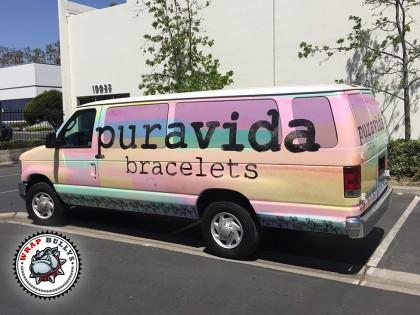 Puravida Bracelets Ford Van Wrap