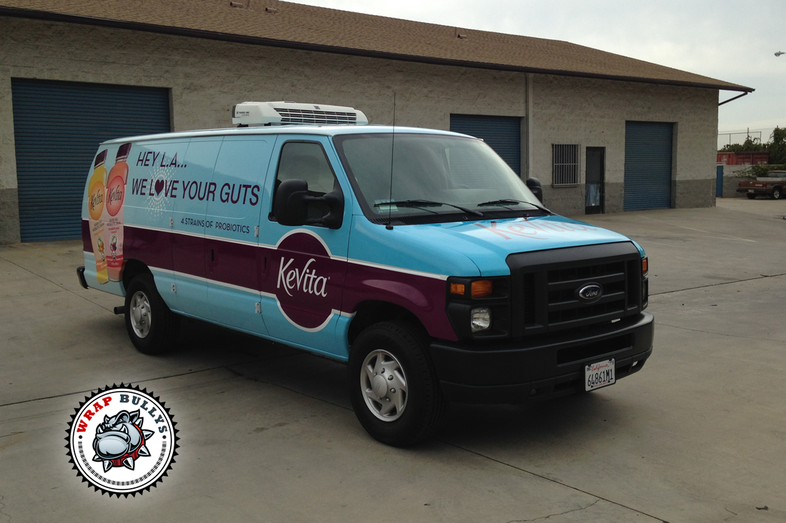 Ford Cargo Van Wrap With Graphics