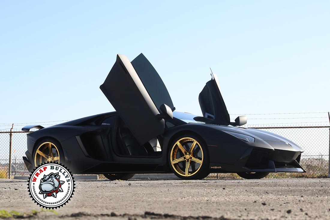 Custom Lamborghini Aventador Wraps. Call today for pricing.