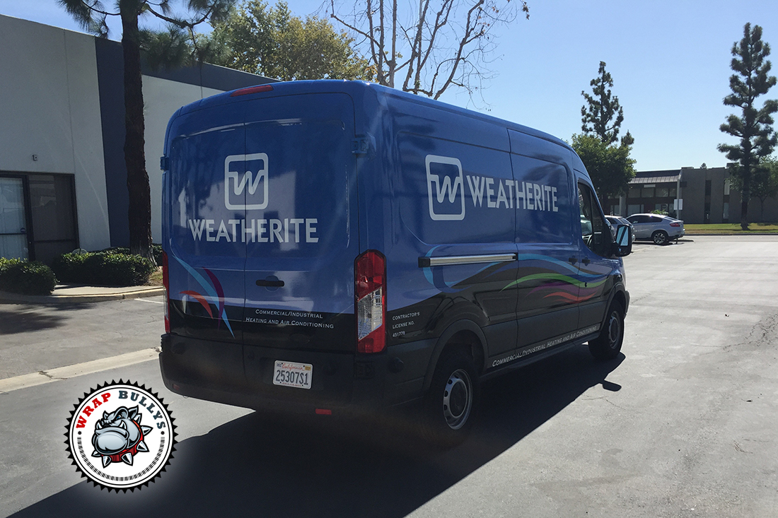 Weatherite Ford Connect Van Wrap