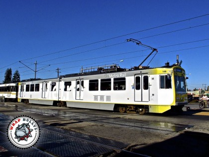 Metro Rail Fleet Graphic Wrap