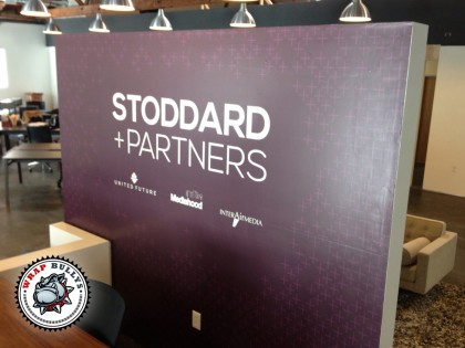 Stoddard and Partners Wall Wrap