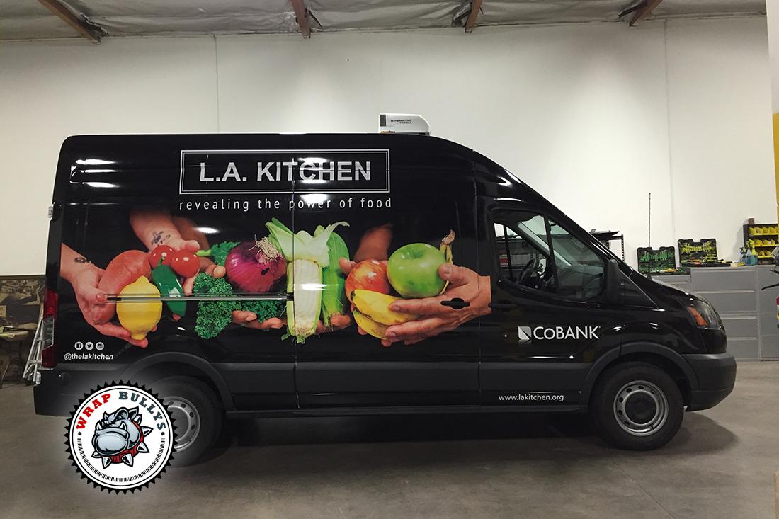 Custom Van Wraps. Design, Print, Install. Call for Pricing