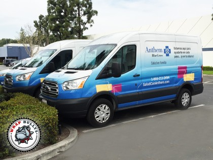 Anthem Ford Transit Van Wrap
