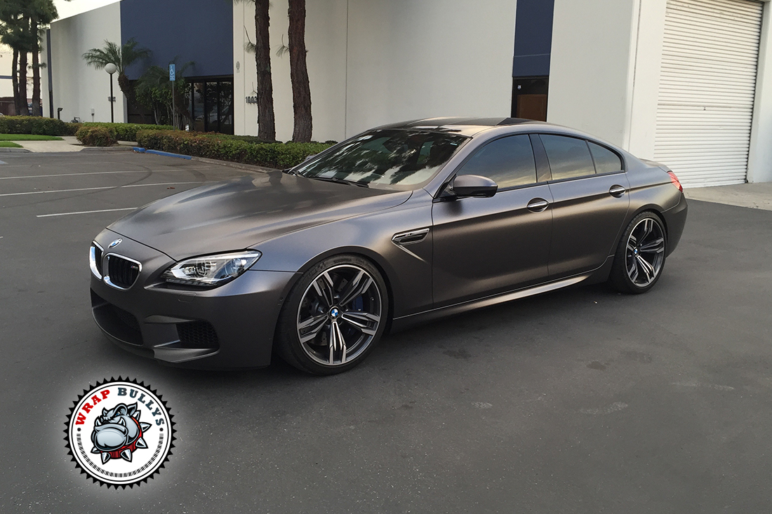 Bmw Wrapped In 3m Satin Gray Car Wrap Wrap Bullys