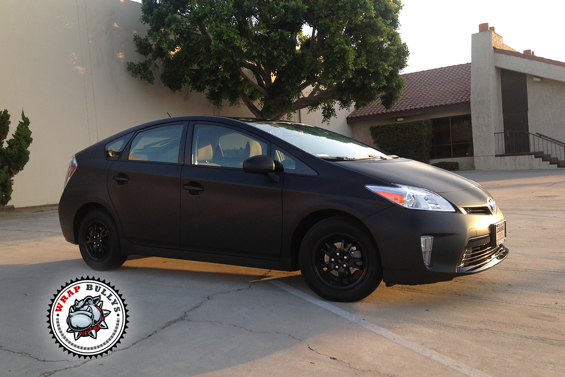 Custom Matte Wrap on 2014 Toyota Prius