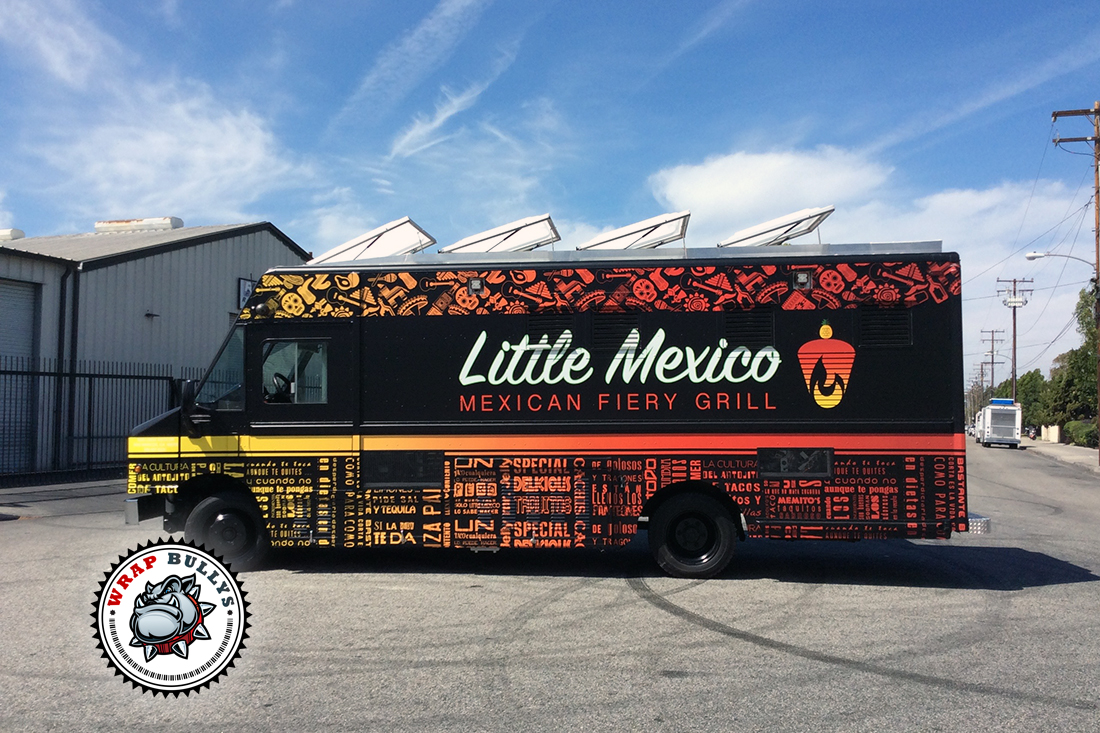 Little Mexico Food Truck Wrap