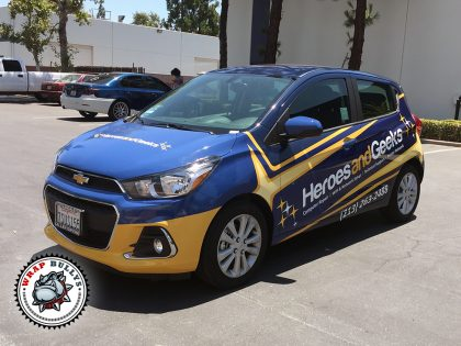 Ford Fit Vehicle Wrap