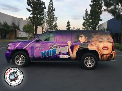 102.7 KIIS FM Chevy Suburban Vehicle Wrap