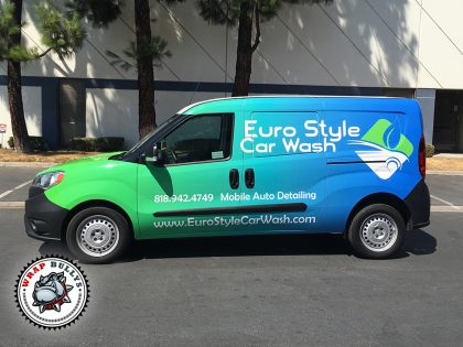 Dodge Postmaster Vehicle Wrap