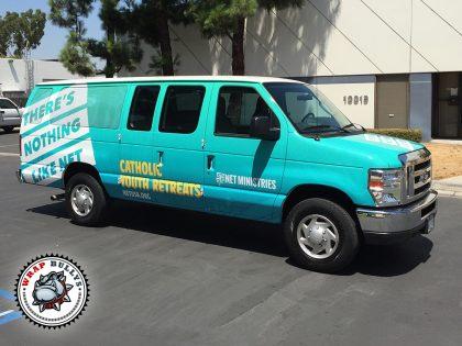 Ford E250 Cargo Van Wrap