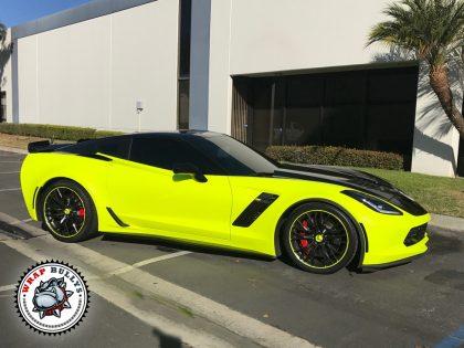 3M Satin Neon Yellow