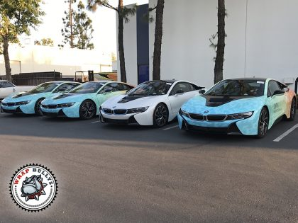 Road to Coachella BMW i8 Car Wrap