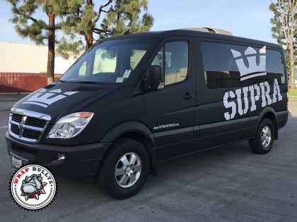 Supra Dodge Sprinter Van Wrap