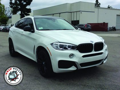BMW X6 Blackout Package