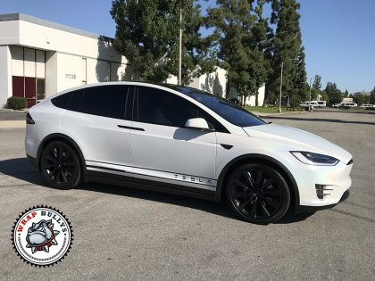 Tesla X Satin Ghost Flip