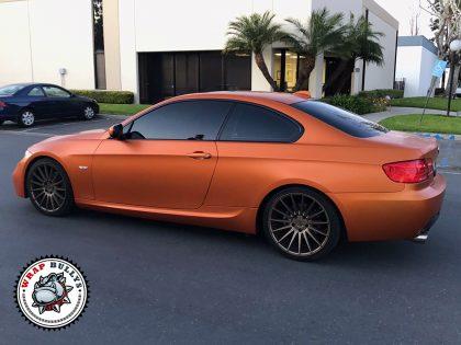 3M Satin Burn Orange